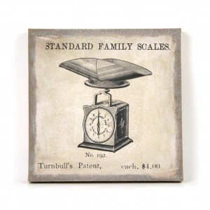 Canvas standard family scales