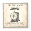 Canvas spring scales