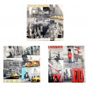 Assortiment Canvas Megacity