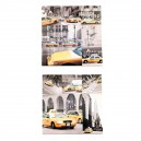 Assortiment Canvas taxi New York II en IV