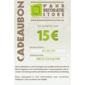 Cadeaubon 15 €