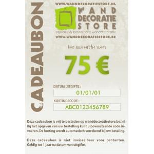 Cadeaubon 75 €
