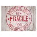 Houten paneel Fragile