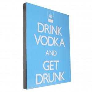 Kader quote Drink Vodka