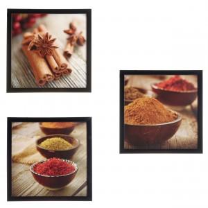 Assortiment afbeeldingen kruiden
