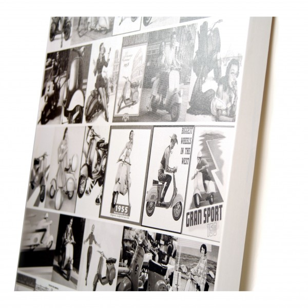canvas retro fotocollage wanddecoratiestorenl