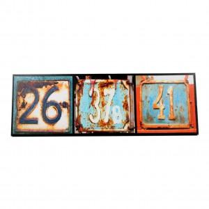 Canvas huisnummers